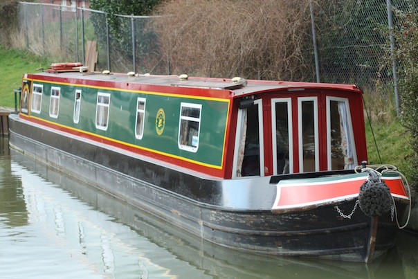 The Eagle Canal Boat