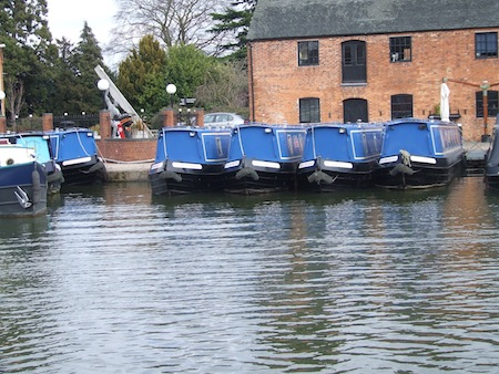 Union Wharf Marina at Market Harborough